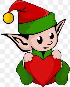 Christmas Elf - The Elf On The Shelf Santa Claus Christmas Elf Clip Art PNG