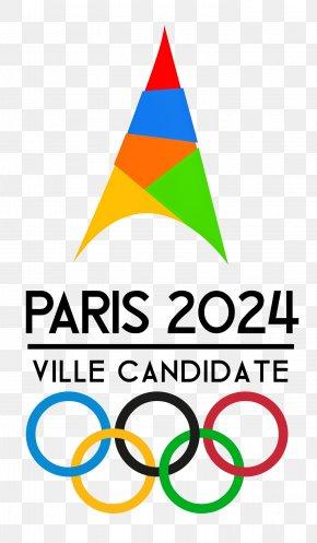Paris - 2024 Summer Olympics Logo Paris Brand Clip Art PNG