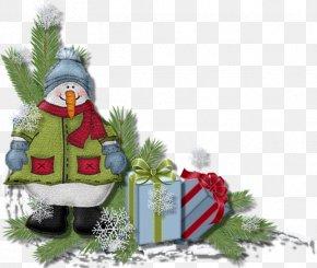 Christmas Corner - Snowman Christmas Decoration New Year Clip Art PNG