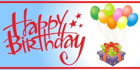 Happy Birthday Sign - Birthday Cake Banner Happy Birthday To You Clip Art PNG