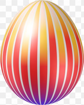 Red Lines Of Eggs - Sphere Easter Egg Ball Recreation PNG