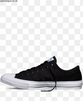 Cheap Converse Shoes For Women - Chuck Taylor All-Stars Converse CT II Hi Black/ White Sports Shoes PNG