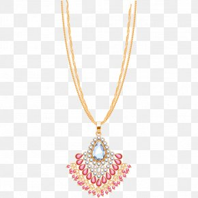 Diamond Material - Necklace Jewellery Gold Chain PNG