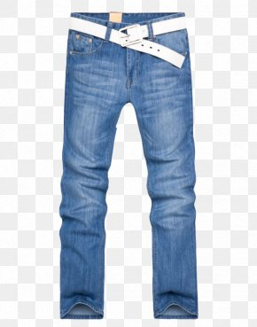 Light Blue Jeans - Jeans Blue Denim Trousers Levi Strauss & Co. PNG