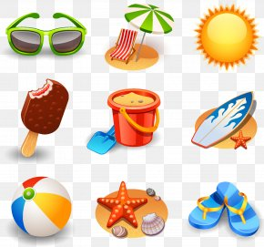 Seaside Element Material - Summer Icon PNG