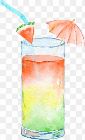 Summer Drinks - Bay Breeze Drink Clip Art PNG