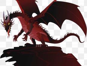 Evil Pterosaurs - Dragon Stock Illustration Cartoon Illustration PNG