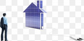 Business People And Small House - Energy Conservation Business Solar Energy Lawyer Lone Star Funds PNG