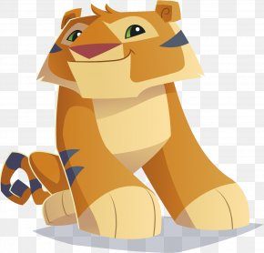 Tiger - Animal Jam Tiger Lion Felidae Cat PNG