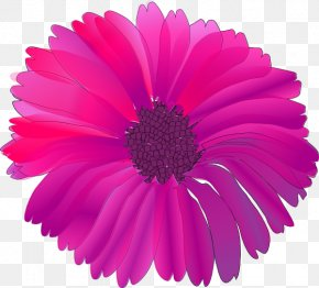 Pink Cartoon Flowers - Pink Flowers Clip Art PNG