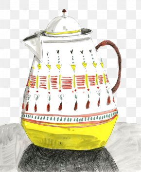 Kettle - Visual Arts Drawing Watercolor Painting Industrial Design Illustration PNG