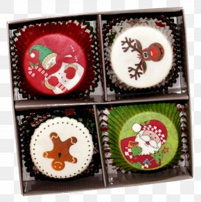 The Joy Of The Ceremony - Muffin Mold Chocolate Christmas Cupcake PNG