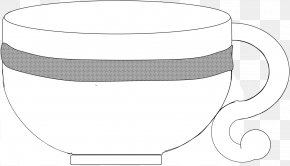Teacup Cliparts - Black And White Monochrome Photography Royalty-free Clip Art PNG