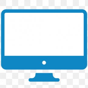 Computer Icon Computer Monitor - Icon Line PNG