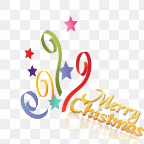Christmas Ribbon - Christmas Gift Clip Art PNG