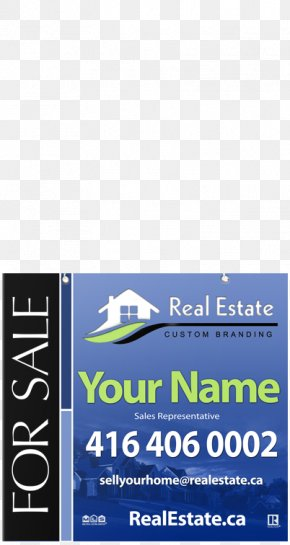 Real Estate Sign - Logo Brand Font Service Product PNG