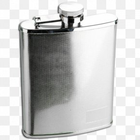 Steel Texture - Hip Flask Pewter Laboratory Flasks Metal Stainless Steel PNG