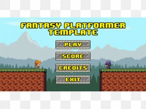 Template Fantasy - Land Lot Landscape Real Property Brand Video Game PNG