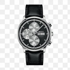 Mido Commander Men's Automatic Mechanical Watches - Mido Automatic Watch Chronograph Clock PNG