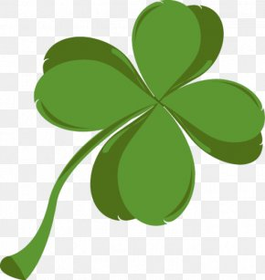 Clover PNG - Shamrock Saint Patrick's Day Four-leaf Clover Clip Art PNG