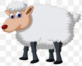 Clip Art Sheep - Sheep Clip Art Vector Graphics Image PNG