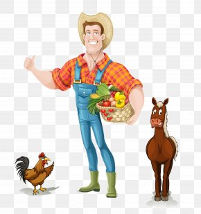 Farmer Agriculture - Clip Art Vector Graphics Agricultural Manager Image Agriculture PNG