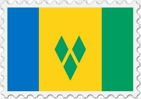 Flag - Flag Of Saint Vincent And The Grenadines Vector Graphics Stock Illustration PNG