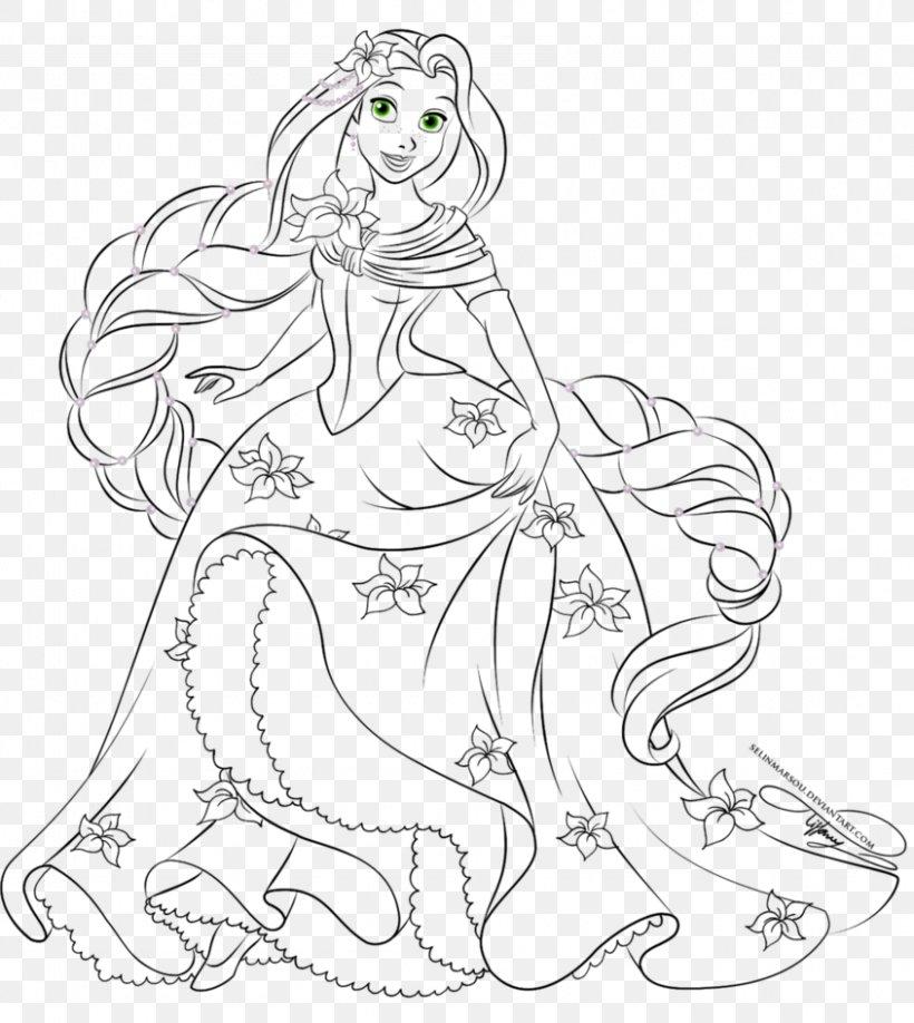 Rapunzel Belle Disney Princess Coloring Book The Walt Disney