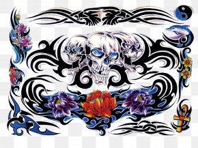Color Tattoo Transparent Image - Tattoo Flash Color PNG