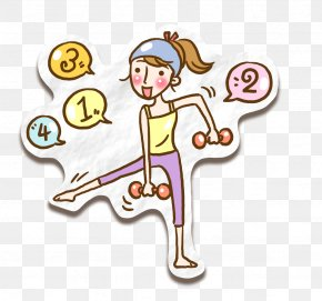 Lifting Dumbbells - Emoticons Dumbbell Olympic Weightlifting Barbell PNG