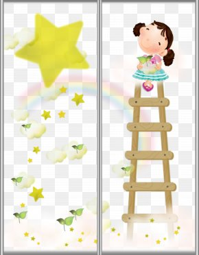 Ladder Stars - May Template Cartoon PNG
