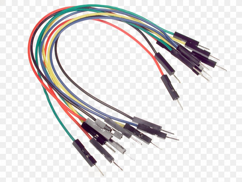 Jump Wire Jumper Arduino Breadboard Png 1837x1378px Jump Wire Arduino Berg Connector Breadboard Cable Download Free