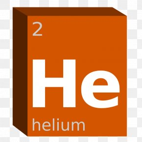 Symbol - Periodic Table Chemistry Chemical Element Helium Block PNG