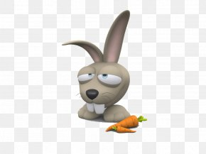 Cute Rabbit - Animated Cartoon Animation Funny Animal Drawing PNG