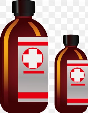Bottle Diagnosis And Treatment - Influenza Disinfectants Medicine Infectious Disease PNG