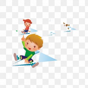 Fly A Kite - Fly Kite Child Illustration PNG
