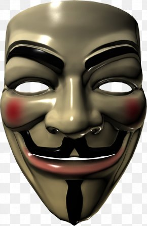 Anonymous Mask - Guy Fawkes Mask V For Vendetta Anonymous PNG