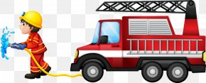 Professional Fire - Fire Engine Firefighter Fire Station Royalty-free Clip Art PNG
