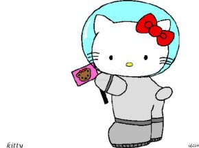Hello Kitty Cheerleader Vector - Hello Kitty Clip Art PNG