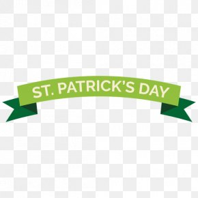 Saint Patricks Day Green Banner - ST PATRICKS DAY Banner PNG