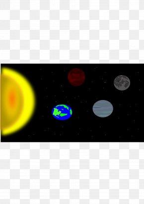 Solar System - Solar System Model Signage Clip Art PNG