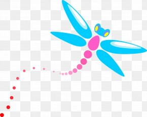 Cartoon Dragonfly - Cartoon Clip Art PNG