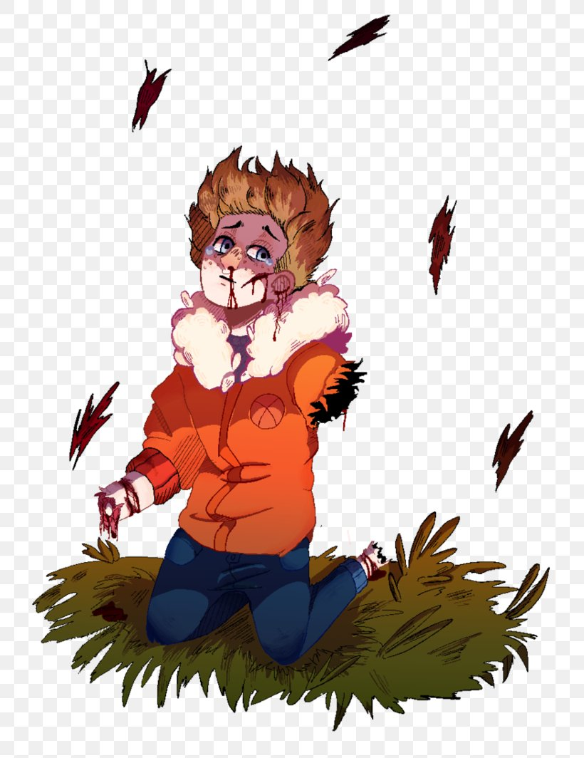 South Park The Stick Of Truth Kenny Mccormick Drawing Art Png 751x1064px Watercolor Cartoon Flower Frame
