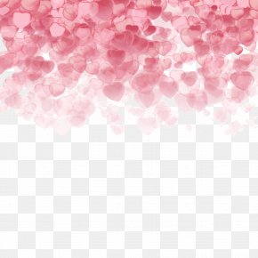 Valentine's Day Background - Valentine's Day Heart Clip Art PNG