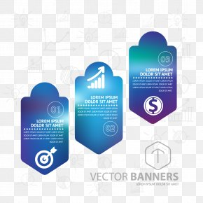Business Information Map Vector Material - Infographic PNG
