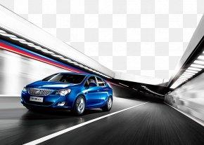 Car Advertisement - Buick Excelle Car General Motors Buick LaCrosse PNG