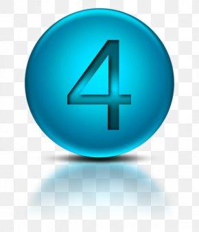 Number 4 Icon Symbol - Symbol Clip Art PNG