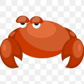 Leisurely Crab - Crab Clip Art PNG