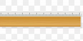 Measuring Instrument Yellow - Line Office Ruler PNG