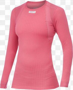 T-shirt - T-shirt Clothing Long Underwear Pink PNG